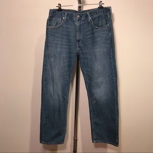 Levi's 505 Straight Fit Jeans Size 36x30